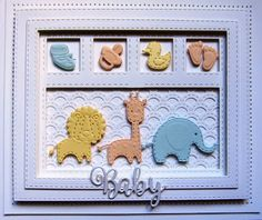 Good Sunday morning all!  I think this may be the last of the  Baby Shadow Box  cards to share (although I still have several other  ...