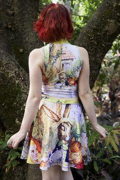 Alice's Adventures in Wonderland – Living Dead Clothing Adventures In Wonderland, Alice In Wonderland, Living Dead Clothing, Floral, Skirts, Clothes, Collection, Fashion, Moda