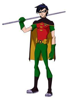Teen Titans Robin YJ Styled by ~Bobkitty23 on deviantART