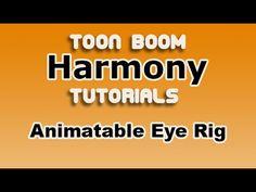 Create an Eye Rig in Toon Boom Harmony