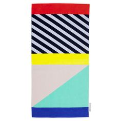 SU1TULLX  35.5 x 68.9 x 0.4 Inches  Cotton  Make your place in the sun luxurious with Sunnylife's supreme Luxe Towel.  The season's colours and prints come together on this premium, oversized,  velour-finished terry beach towel.