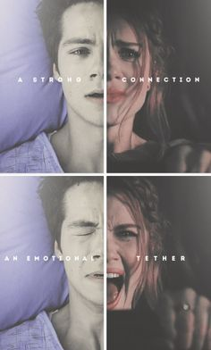 Teen Wolf: 3x18 Riddled: Stiles Stilinski and Lydia Martin