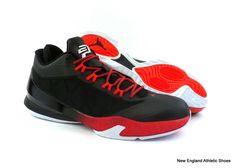 Nike men Jordan CP3.VIII basketball shoes sneakers - Black / White / Infrared 23 #Nike #BasketballShoes