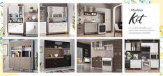 Muebles kit. Un mueble completo, con capacidad y diseño. ¿Cuál de necesita tu cocina? Lockers, Locker Storage, Floor Plans, Kit, Cabinet, Furniture, Home Decor, Kitchen, Home