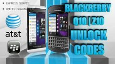 USA AT Blackberry Z10 | Q10 Unlock Codes | Permanent Official Factory Network