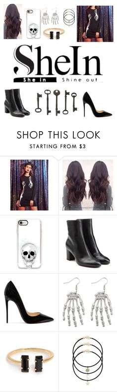 """""""Untitled #65"""" by wintergaurd ❤ liked on Polyvore featuring Casetify, L'Autre Chose and Christian Louboutin"""