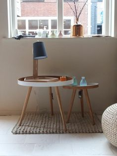 A Cup of Chic | Life/Style + Little Ones - Bloomingville Bamboo Coffee Table Set