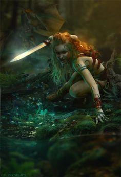 Guardians of magic lake by *Ilona-Nelapsi