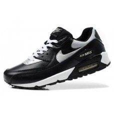 best authentic 9c202 81bb9 Nike Air Max 90 Black White Silver