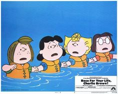 Race for Your Life, Charlie Brown!, 1977 movie poster