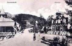 Szovátafürdő:Fő sétány a villákkal.1914 Painting, Art, Sundial, Oaxaca, Clocks, Art Background, Painting Art, Kunst, Paintings