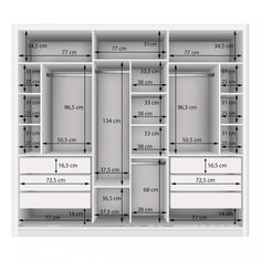 Couple Wardrobe with 3 Mirror 3 Doors Siena Furniture White .- Guarda Roupa Casal com 3 Espelho 3 Portas Siena Móveis Branco – MadeiraMadeira Double Wardrobe with 3 Mirror 3 Doors Siena Furniture White – MadeiraMadeira -the chosen wardrobe desig
