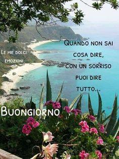 Good Morning Good Night, Gods Love, Beach, Outdoor, Sarah Kay, Happy, Flowers, Photography, Phrases In Italian