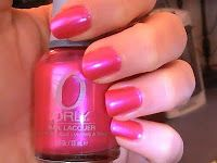 one of my all time favorite polishes. the perfect pink. orly berry blast