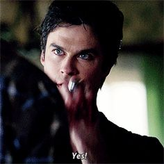 "Ian Somerhalder ...GIF ""Yes!"""