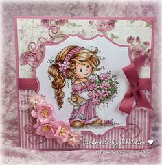 Digital stamps by Wee Stamps, rubber stamps are from Whimst Stamps. You can order via this website. Pretty Cards, Cute Cards, Baby Cards, Kids Cards, Hobby House, Whimsy Stamps, Beautiful Handmade Cards, Copics, Digital Stamps
