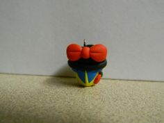 Everything is handmade by me with polymer clay.