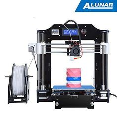 ALUNAR-M508 3D Printer Kit 0.3mm Nozzle High Precision Printing Reprap Prusa i3 #ALUNAR #3dprintertoys #3dprinterlessons