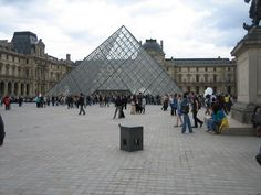 The most recent addition to the Louvre was the construction of the Louvre Pyramid, which functions as the museum's main entrance.
