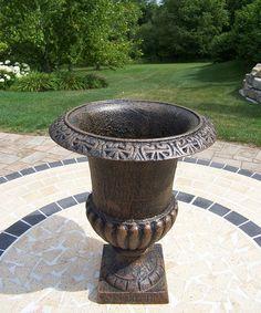 Loving this Antique Bronze Roman Urn on #zulily! #zulilyfinds