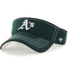 Oakland Athletics '47 Defiance Adjustable Visor - Green