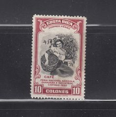 Costa Rica 1950 10C Coffee SC C210 Mint Hinged | eBay