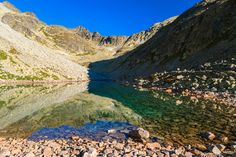 Mountain lake, High Tatras, Slovakia by Pawel Kazmierczak, via High Tatras, Tatra Mountains, Far Away, Grand Canyon, Crystal, World, Summer, Travel, Summer Time