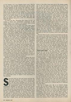 Norman Mailer, Graffiti, Esquire, May, 1974, Piece, Classic, New York, Period