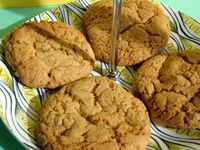Chewey Ginger biscuits
