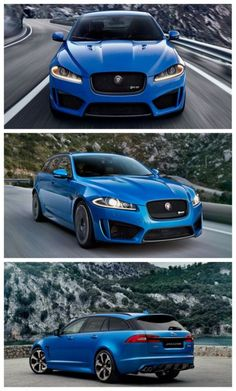 Badass Cars not available in the USA! I can't believe we're missing out on this amazing Jaguar XFR-S Sportbrake.