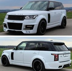 Adding body kit to a newly released car is quite a abomination of the designers' ideas.