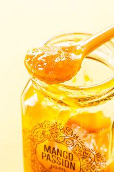 Mango Passion Fruit Jam plus FREE printable canning labels