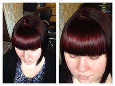 Spot light technique  Different colour put through fringe to create a spot light reflection on hair effect  Hair Colour by Emma