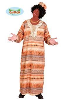 Nous voilà transporté en Afrique grâce à ce déguisement traditionnel africain !