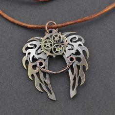 Wings Pendant inspired by Clockwork Angel