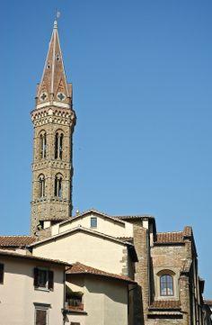 Campanile della Badia Fiorentina, Firenze (Toscana, Italy) - by Silvana, marzo 2014