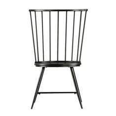 chair   joss & main   wood   black   $170/2