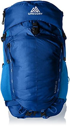 Gregory Mountain Products Mens Stout 45 Backpack Marine Blue Medium -- To view further for this item, visit the image link.