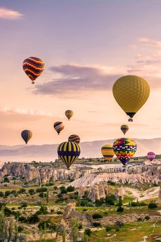 Turkey's Mediterranean coast gets all of the attention when it involves accepting some a lot-needed rest. but Cappadocia, abysmal within the Anatolian plains at the country's middle, is the country's finest gem. The bogie Chimneys close Gerome are the area's best constant afterimage, with historical church buildings and monasteries carved into the bizarre geological formations. Its underground cities are also basic cease-offs.  #wanderers #travellust #travellog #travellifestyle #pinterest