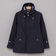 Nanamica Gore-Tex Short Southern Collar Coat in Navy