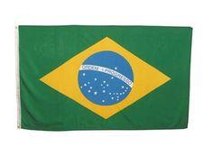MFH Fahne, Brasilien 90 x 150 / mehr Infos auf: www.Guntia-Militaria-Shop.de