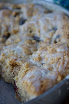 Cherry Almond Coffee Cake (GF)