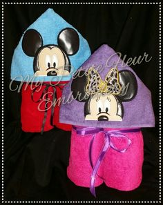 4 x 4 Mr & Mrs Mouse Non-3D Designs with Hands | My Petite Fleur Designs