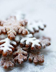 snowflake cookies #Christmas