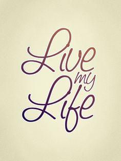 180311 : live my life
