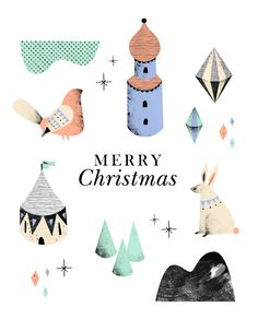Merry Christmas - Noémie Cédille - noemiecedille.fr