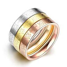 SJTGR036 Smoth Aço Titanium White Gold & Rose Gold & Ouro Amarelo…
