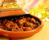 """The """"tajine"""" (or """"tagine"""" is both the word for the dish (as a main course) and for the clay pot that is used in North Africa for cooking the dish. here a recipe for Lamb Tajine! Lamb Tagine Recipe, Tagine Recipes, Tagine Cooking, Ras El Hanout, Couscous, Food Videos, Love Food, Yummy Food, Favorite Recipes"""