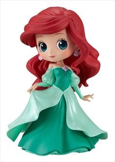 Japan Q posket Petit Disney PIXAR characters Merida Brave Authentic F//S tracking