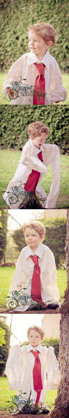 A short guide on how to do a Boy's Dress Up themed photoshoot.